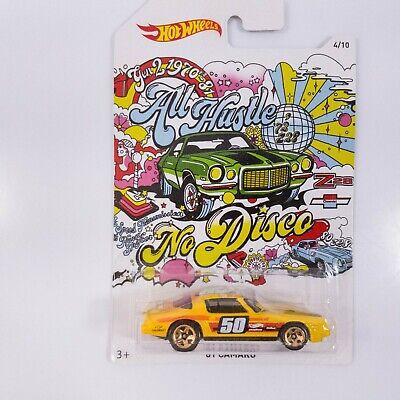 2018 Hot Wheels Camaro 50th Anniversary '81 Camaro Yellow New on Card #4/10