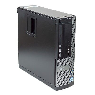 FAST Dell Optiplex Desktop Computer PC Quad Core i7 2.80Ghz 8GB 1TB Windows 10