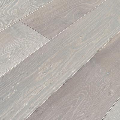 "Used, 6"" Brushed French Oak Saison Engineered Floating Wood Flooring Plank Sample for sale  Minneapolis"