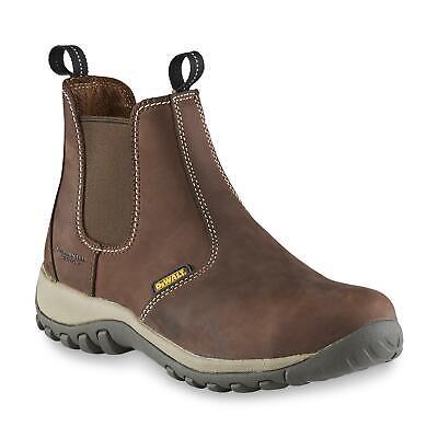 Dewalt Mens Level 6 In Work Boots Steel Toe Brown 8m Dxwp84334 Slip Resistant