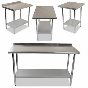 Industrial Commercial Stainless Steel Kitchen Food Prep