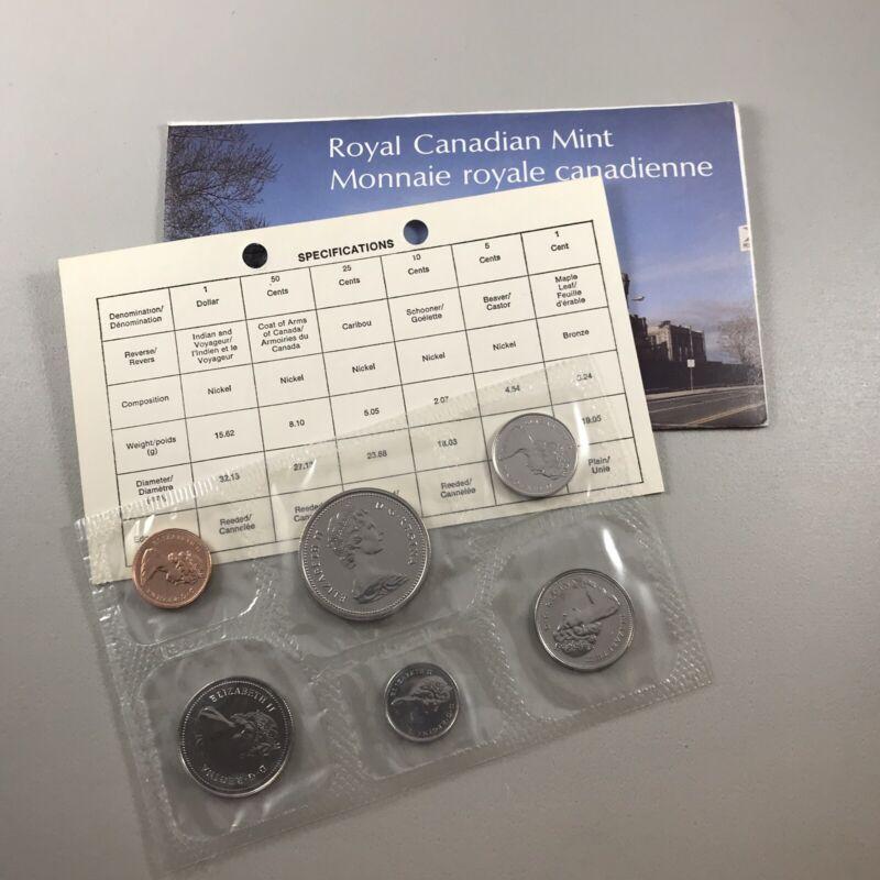1977 Canadian Mint Uncirculated Canada Set