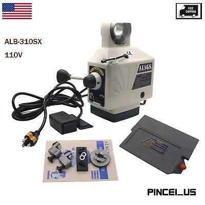 Power Feed For Horizontal Milling Machine X Y Axis Alb-310sx 110v Usa Stock