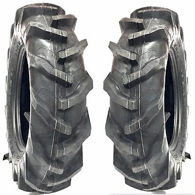 2 8.3x16 8.3-16 Traction Master R1 Compact Tractor Tires Kubota And John Deere