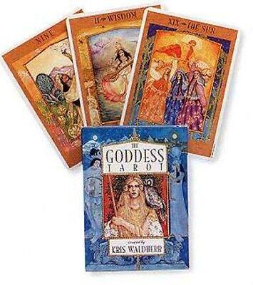 NEW! The Goddess Tarot Deck Cards Kris Waldherr Wicca Wiccan
