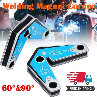 2x Magnet Holder Corner Welding Magnets Adjustable 6090magnetic Clamp 15kgf