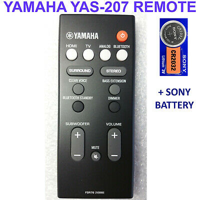 Yamaha YAS-207 Barra de Sonido