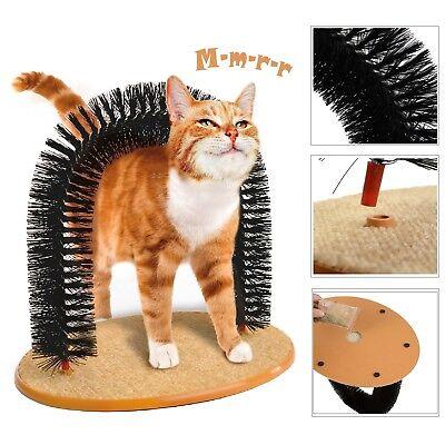 Cat Scratching Post Pet Arch Scratcher Brush Furniture Scratch Board Tree Toy