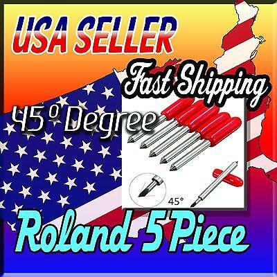 5x45 Degree Roland Plotter Vinyl Cutter Blade Knife Mimakivinyl Expressallen.