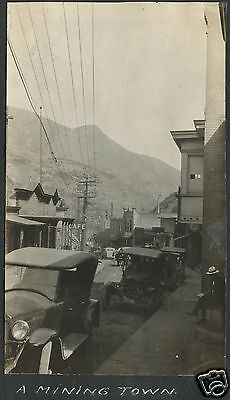 ANTIQUE BINGHAM CANYON UTAH UT COPPER MINE MINING TOWN SIGNS RARE OLD PHOTOS