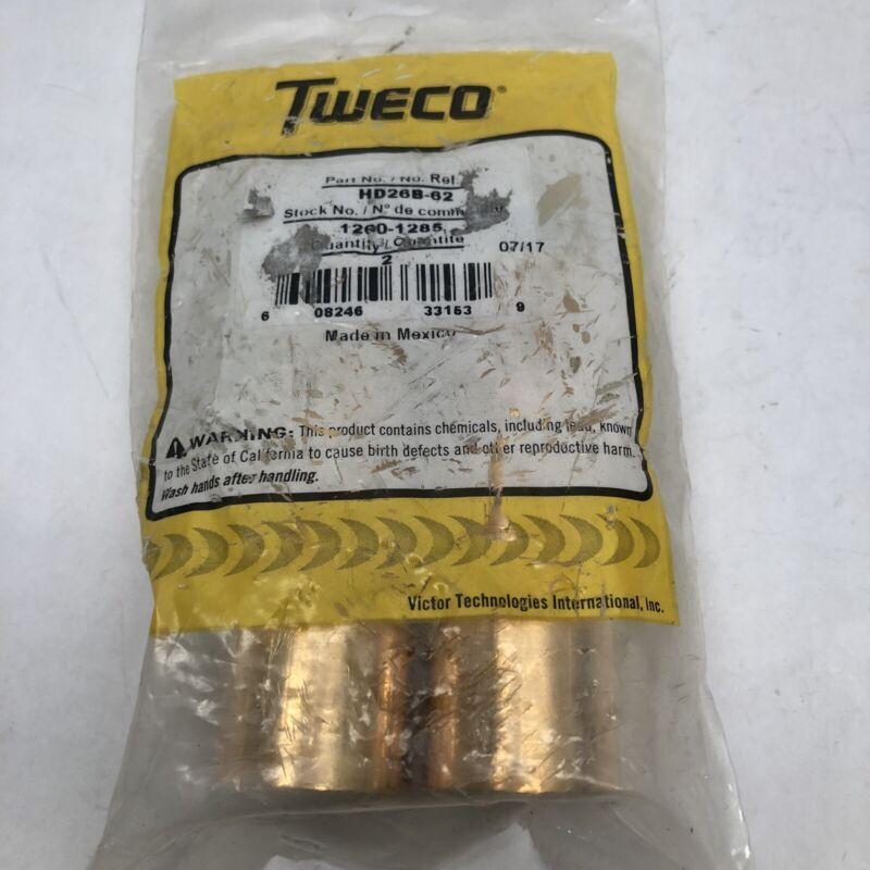(PACK OF 2) TWECO HD26B-62 1260-1285