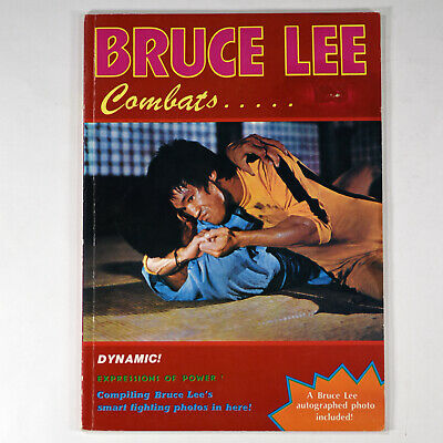 Bruce Lee: Combats Magazine Book 1978 Jeet-kune-do Martial Arts VINTAGE
