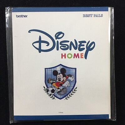 Embroidery Designs Card Best Pals for Brother Disney Embroidery