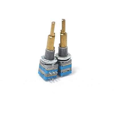 2 X 9mm Tocos A5kb1k Audiolinear Taper Potentiometer Dual-gang