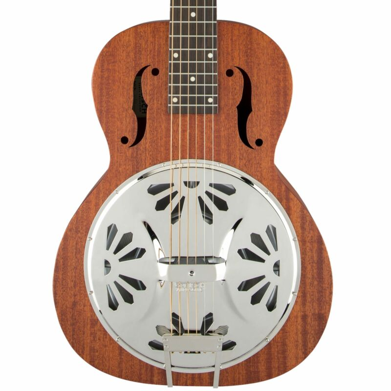 Gretsch G9210 Boxcar Squareneck Resonator Guitar Natural