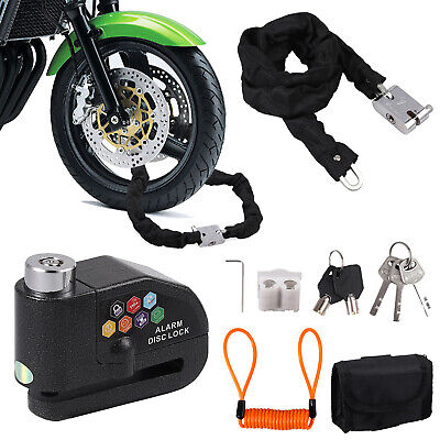 Security Rope Lanyard Disc Brake Motorbike Motorcycle Security Efficient
