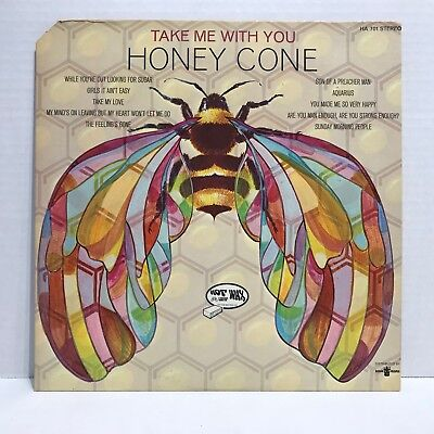 HONEY CONE TAKE ME WITH YOU HOT WAX HA-701 STEREO EX