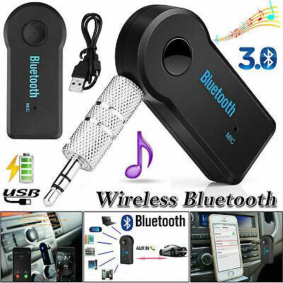Inalámbrico Bluetooth 3.5mm AUX Audio Estéreo Música Receptor Adaptador de coche