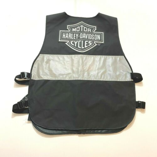 Harley Davidson Vest One Size 3M Reflective Motorcycle Biker Safety
