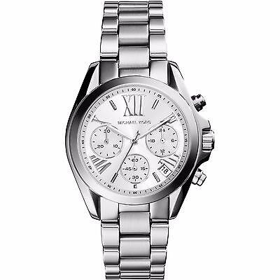 Michael Kors MK6174 Bradshaw Chronograph Champagne Dial Silver tone Wrist Watch