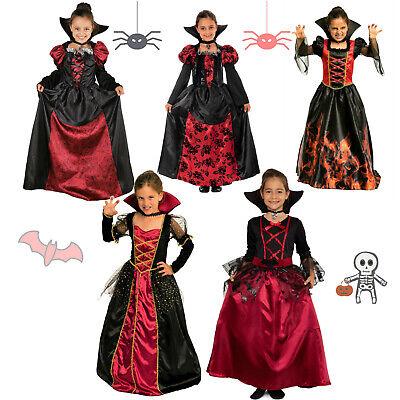 Vampir Halloween Kostüm Kinder Mädchen Halloweenkostüm Skelett Kind - Kinder China Kostüm