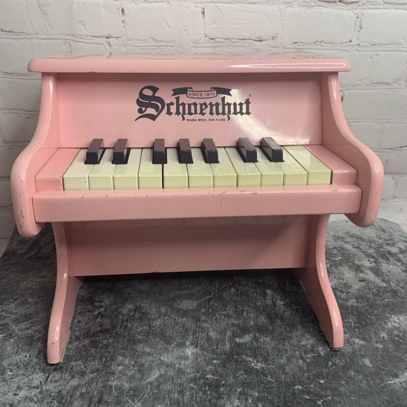 Schoenhut Kids Pink My First Piano 18 Key Children