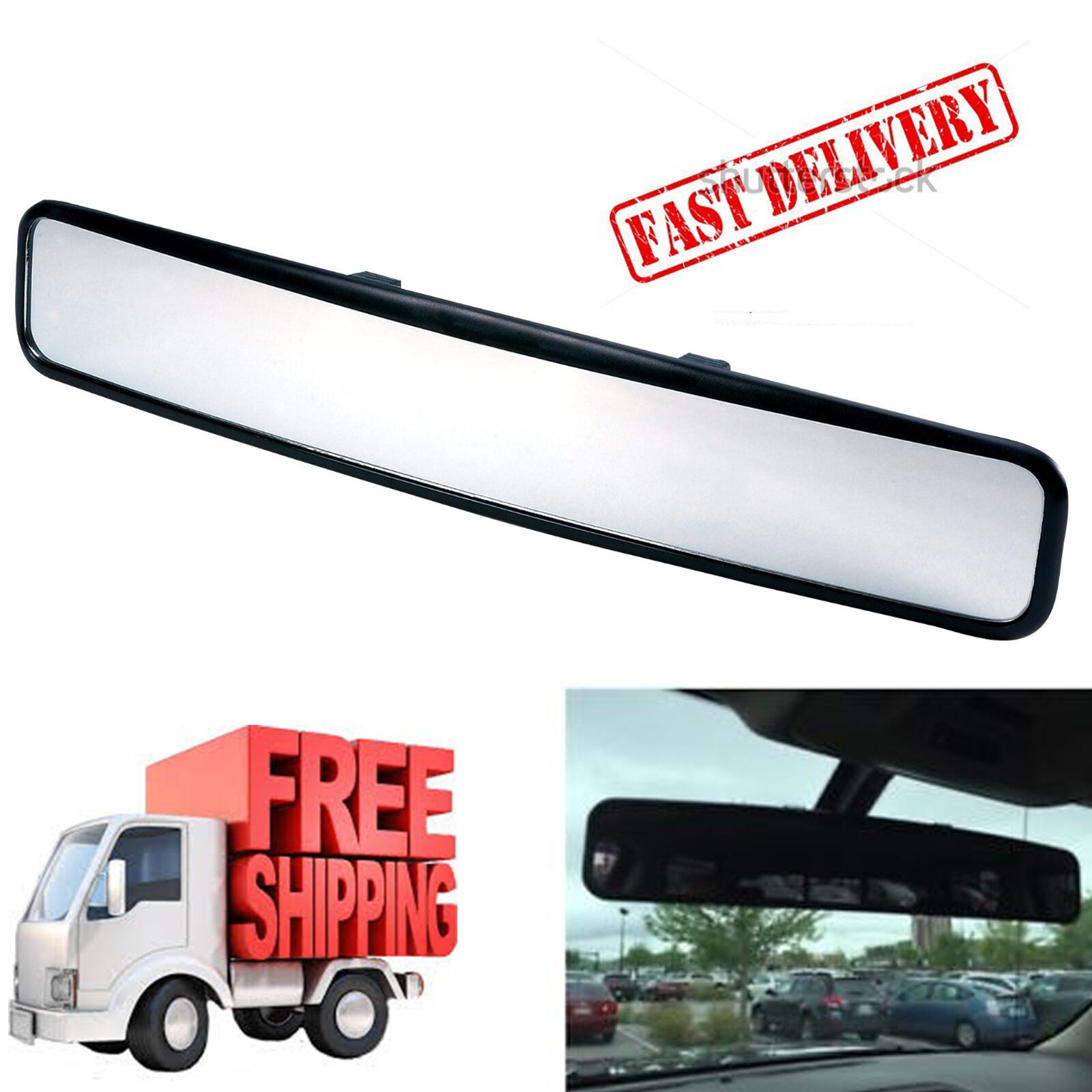 Golf Cart Mirrors Wide Angle Rear View Fits Club Car Ezgo