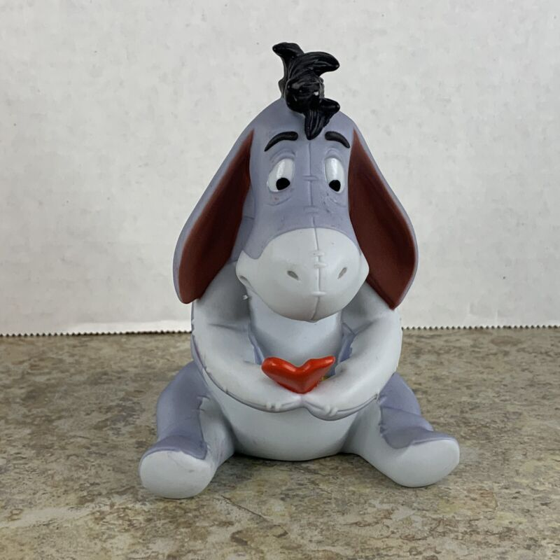 Eeyore Small But Sincere Figurine Porcelain Pooh And Friends Valentines Heart