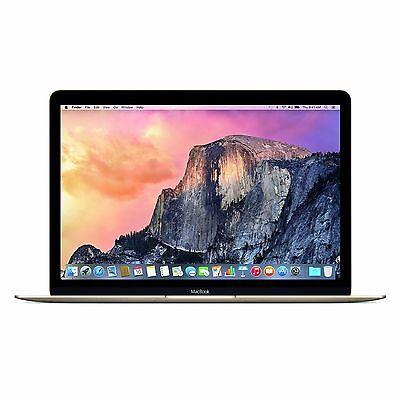 Apple Macbook 12'' 256GB Intel Core M Dual-Core Laptop - Gold/Silver/Space Gray