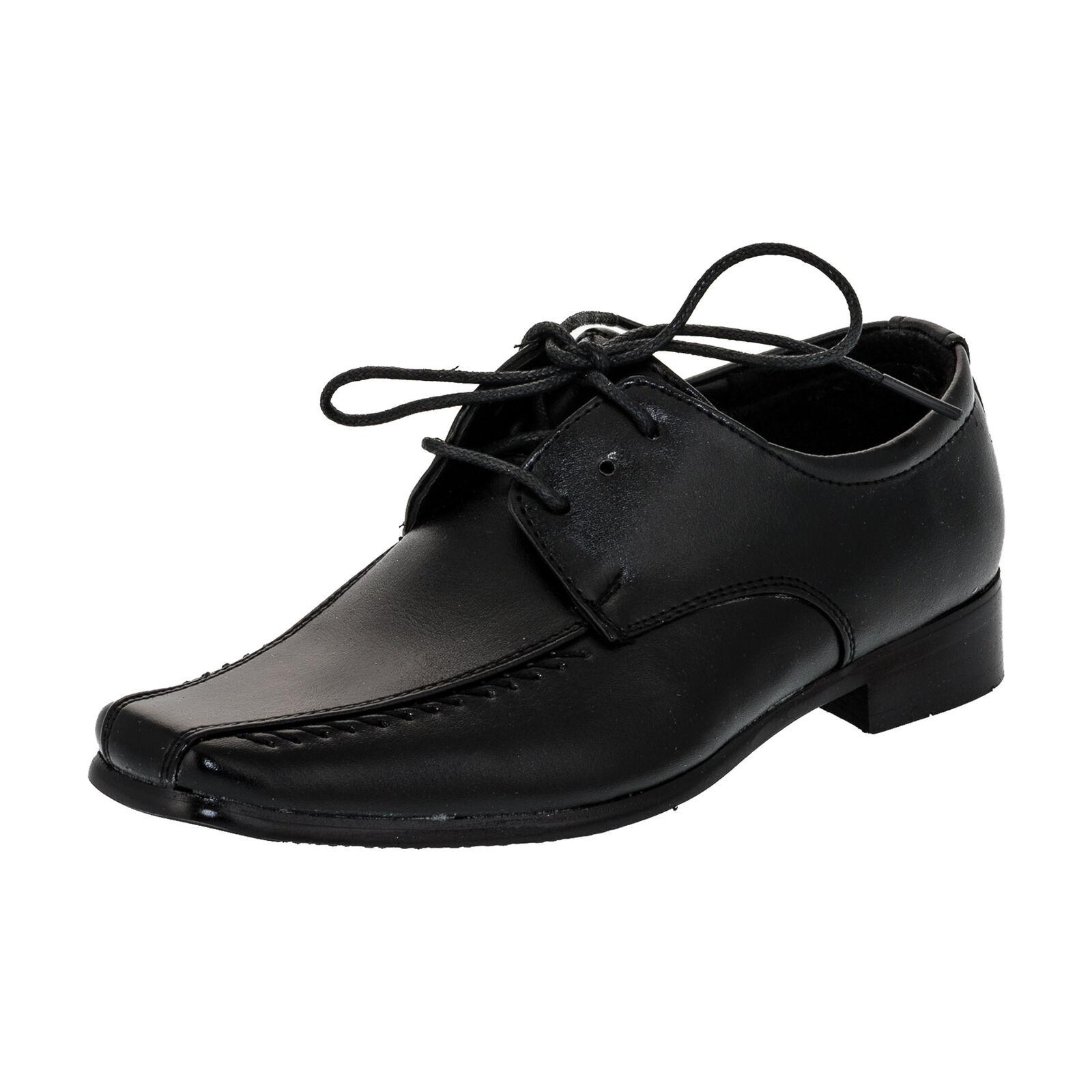 2e7b6bbd31a96d Innen Leder festliche Kinder Anzug Schuhe Hochzeit Jungen ...