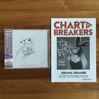 JAPAN ONLY 15 TRACK CD THE REMIX 2015 + BEST FLYER! ARIANA...