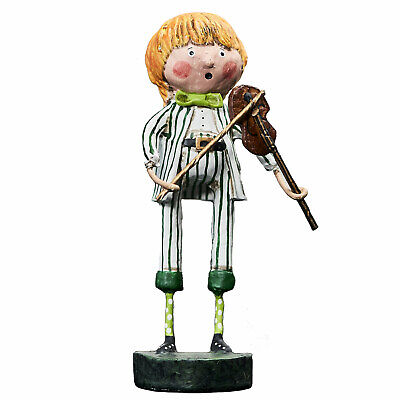 Lori Mitchell St. Patrick's Day Irish Fiddler Music Retro Vntg Decor (St Patrick's Day Music)