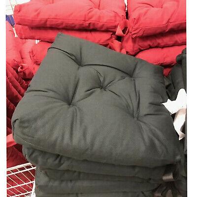 IKEA Cojín para Silla Cojín Suave Cojín Gris Oscuro 40x35 CM 7cm...