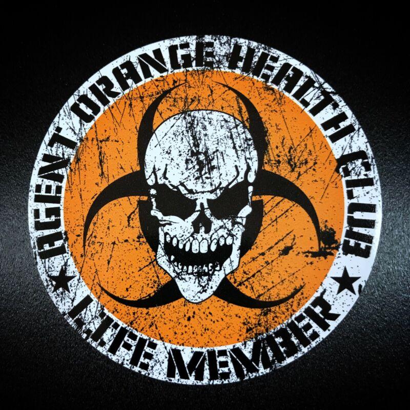 Agent Orange Circle - Sticker