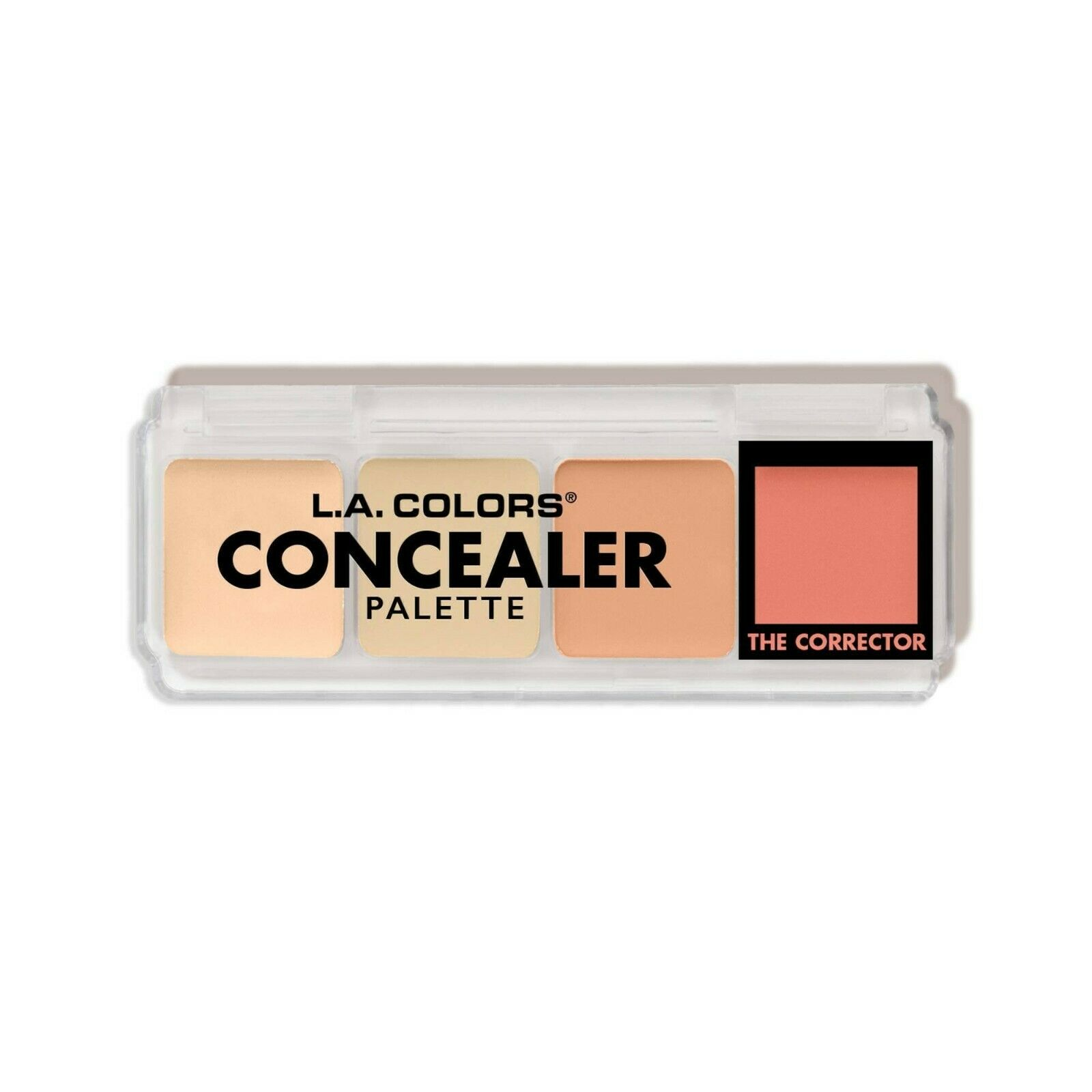 L.A. COLORS Concealer Palette Concealer Corrector CBCP280 MEDIUM .21 Oz. NEW  - $6.87