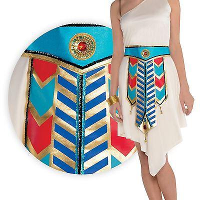 NEU Damen gold Kleopatra ägyptisch Göttin Gürtel Nil - Goldene Göttin Kleid