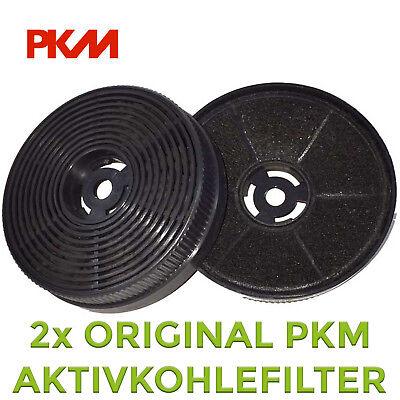 Kohlefilter (PKM Aktivkohlefilter Kohlefilter Filter Kohle CF 140 SET beinhaltet 2 Stück NEU)