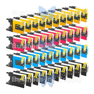 40 Pack Lc71 Lc75 Non-oem Ink For Brother Mfc-j430w Lc-71...