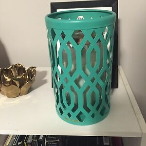 Teal Candle Holder