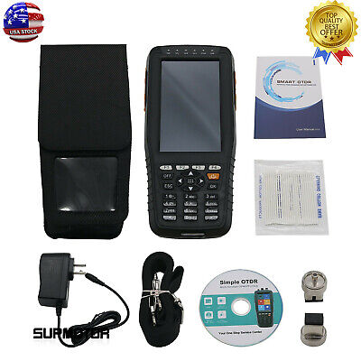 60km Optical Time Domain Reflectometer Otdr Vfl Opm Ols 4in Non-touch Screen Usa