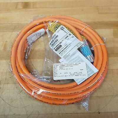 Siemens 6fx8002-5ds11-1ah0 Motion Connect 800 Plus Power Cable 7 Meters - New
