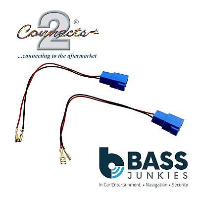Chevrolet All Models Upto 2014 Car Speaker Brackets Adaptor Plug Lead Connectors