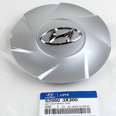 "Genuine Hyundai Elantra Wheel Hub Cap 17"" for 2011-2013 52960-3X300 Quantity=1"