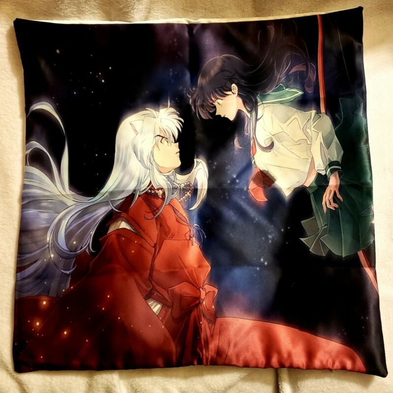 Rare Beautiful Inuyasha Final Act Pillow Case!! (A Must See!!)