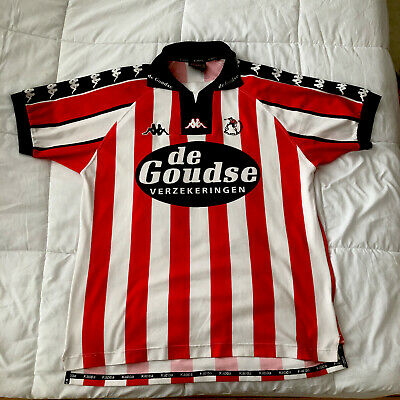 Vintage Sparta Rotterdam 1999/2000 W De Bruyn Soccer Jersey XXL Kappa