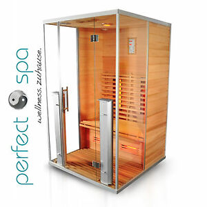 athen infrarotkabine infrarot sauna w rmekabine infrarotsauna ebay. Black Bedroom Furniture Sets. Home Design Ideas