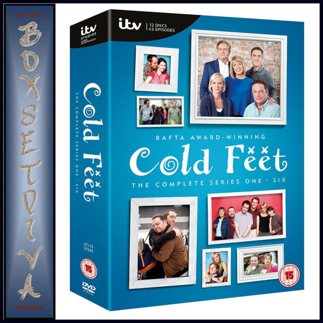 COLD FEET - COMPLETE SERIES 1 2 3 4 5 & 6 *BRAND NEW DVD BOXSET **