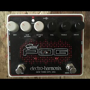 Earthquaker Devices and Electro Harmonix pedals