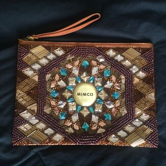 Mimco Large Pouch Clutch