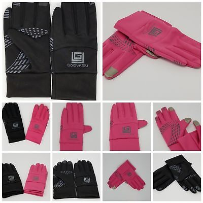 Winter Warm Sports Gloves Touch Screen Gloves Running Cycling S-XL Mens & Womens